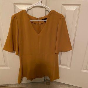 NWOT ann Taylor flutter blouse